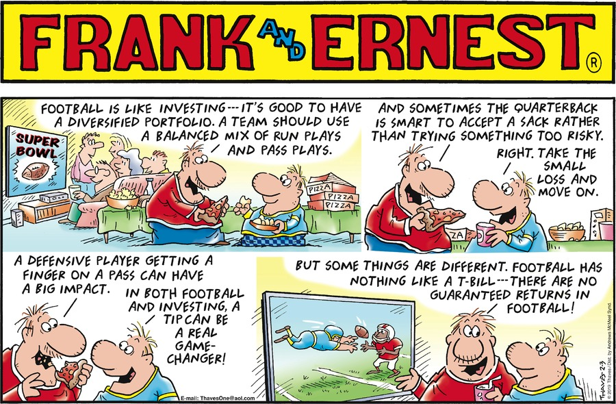 Frank and Ernest Comic Strip for February 03, 2019