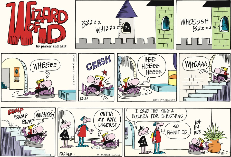 Wizard of Id Comic Strip for December 29, 2013