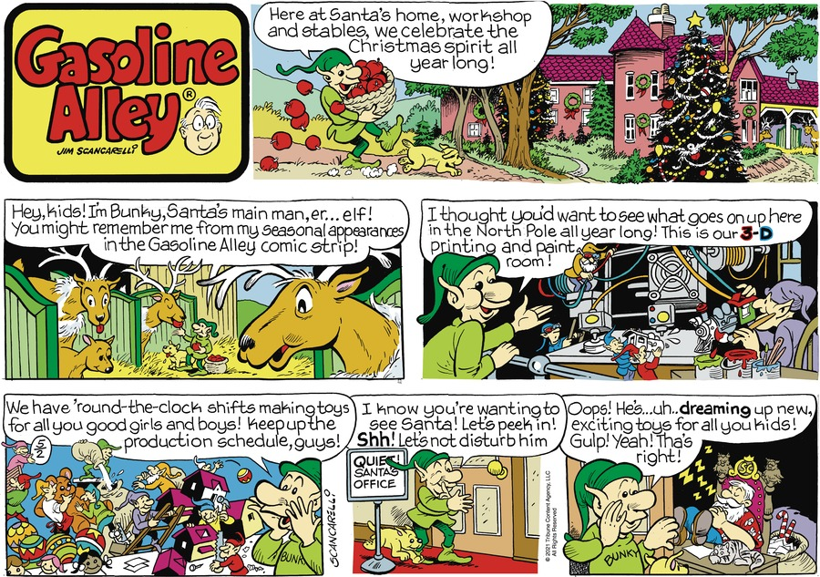 Gasoline Alley by Jim Scancarelli on Sun, 02 May 2021