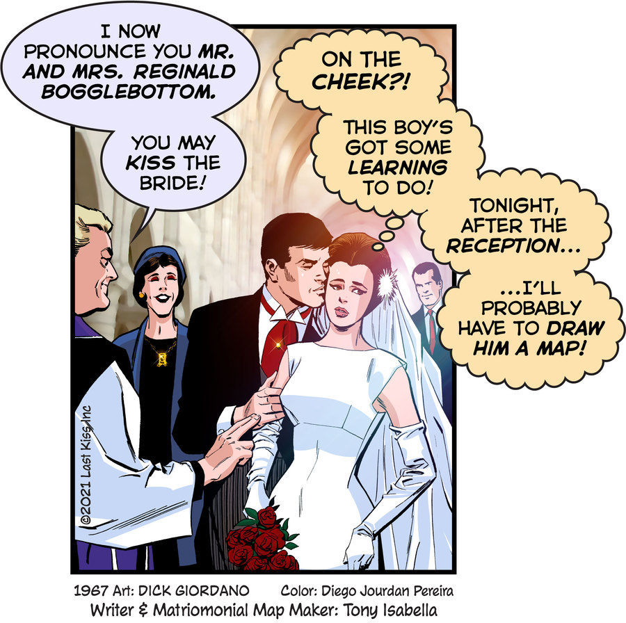Last Kiss Comic Strip for May 05, 2021