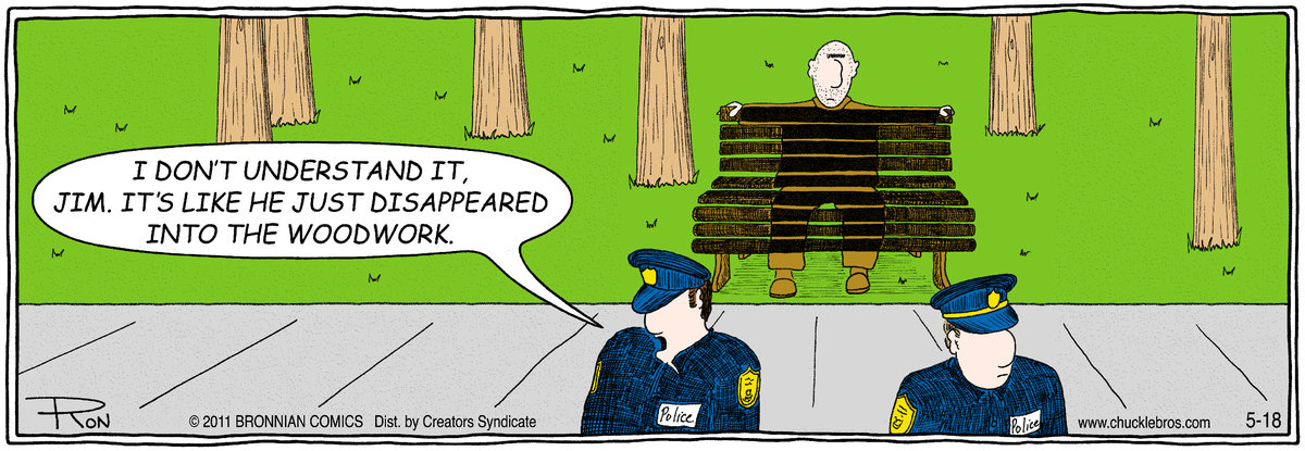Chuckle Bros for May 18, 2011 Comic Strip