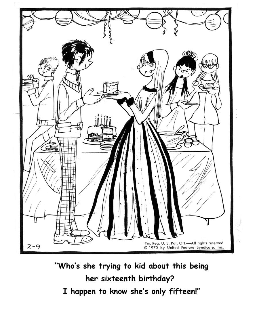 Emmy Lou for Feb 26, 2013 Comic Strip