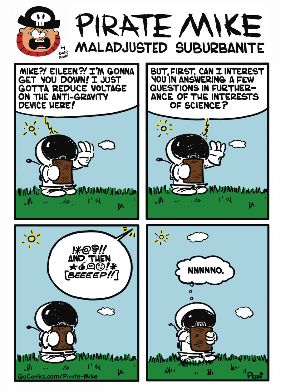Pirate Mike Comic Strip for October 09, 2019