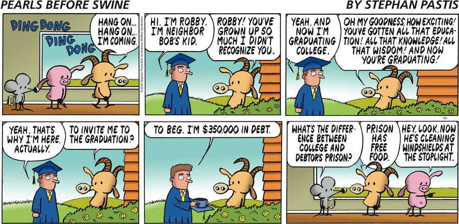 Pearls Before Swine Comic Strip for August 05, 2018