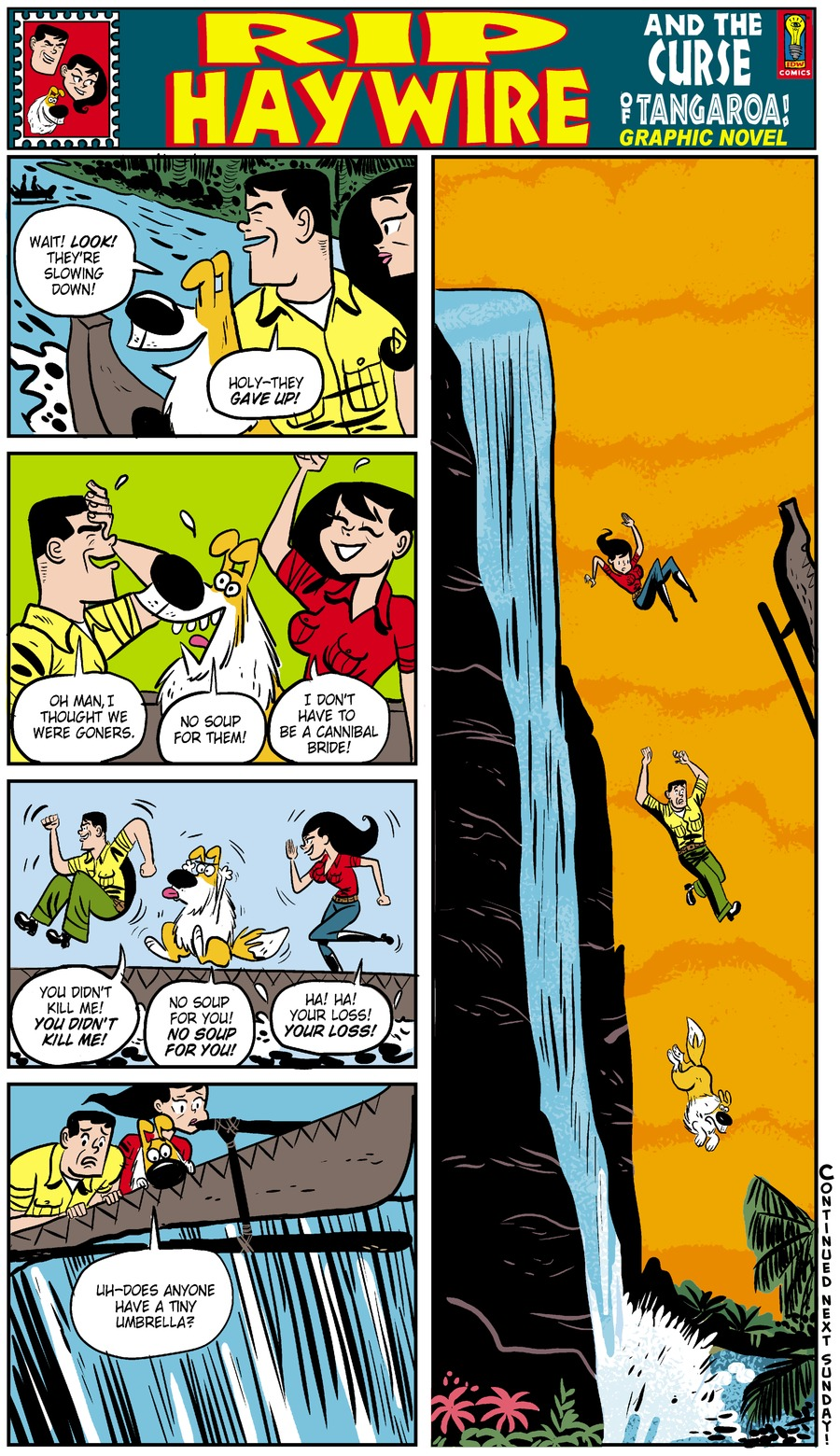 Rip Haywire Comic Strip for March 02, 2014