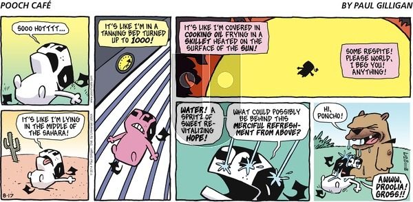 Pooch Cafe - Sunday August 17, 2014 Comic Strip