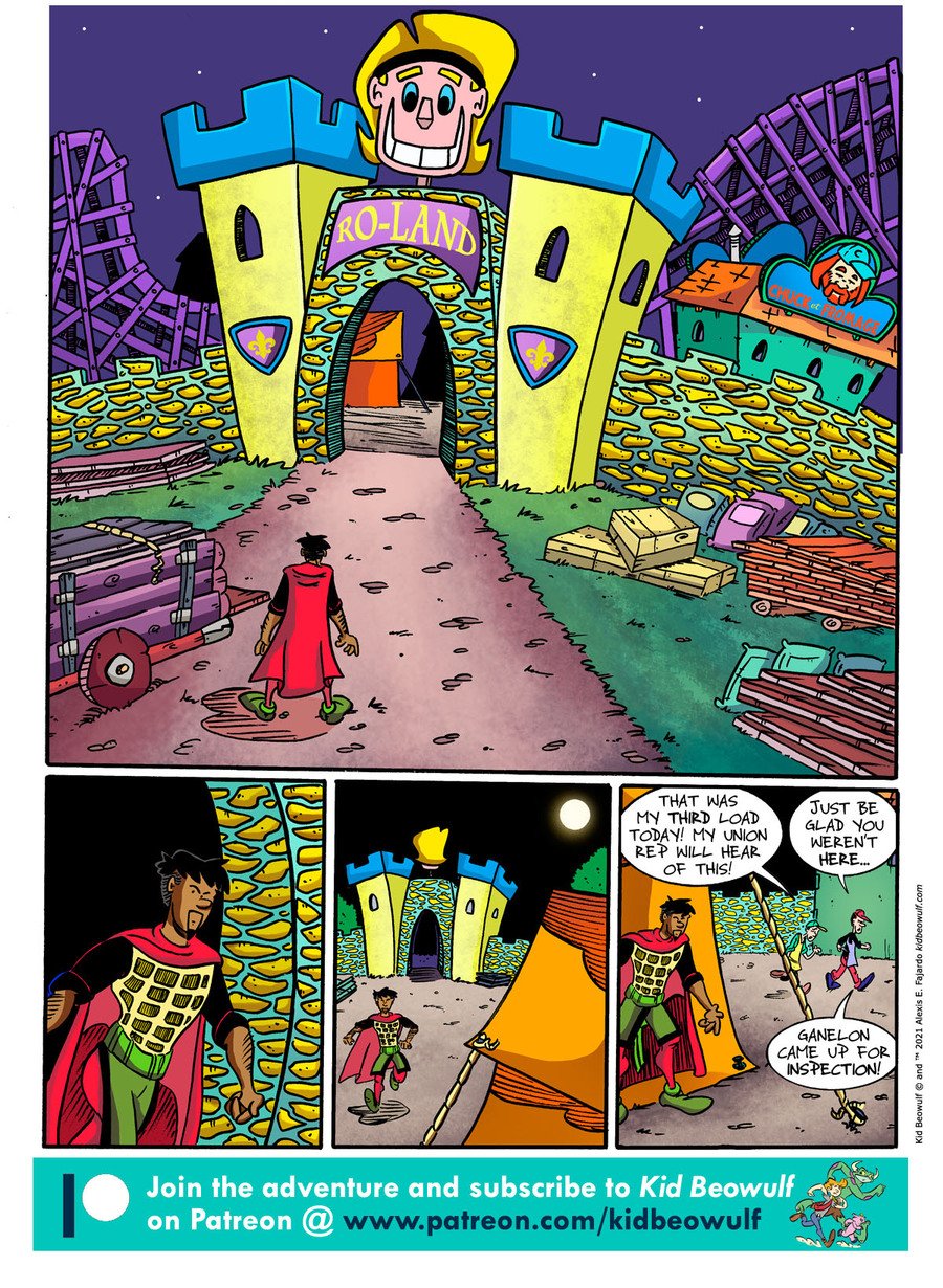 Kid Beowulf Comic Strip for May 24, 2021