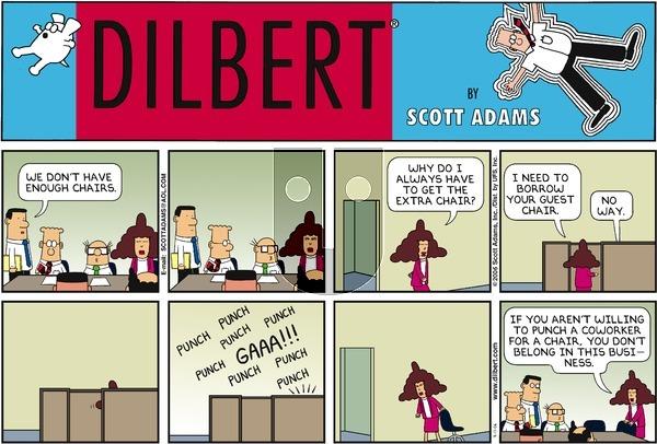 Dilbert - Sunday September 17, 2006 Comic Strip