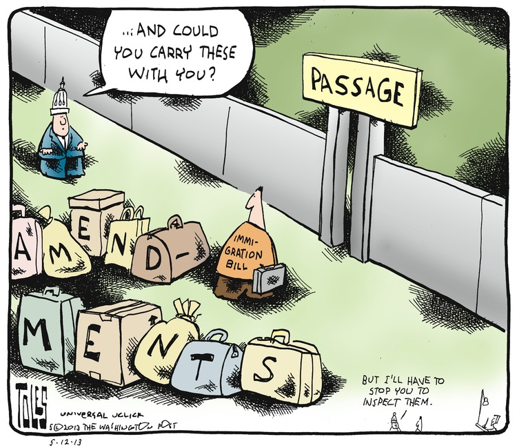 Tom Toles for May 12, 2013 Comic Strip