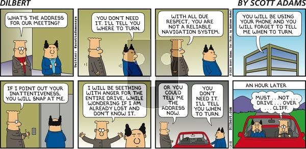 Dilbert - Sunday January 21, 2018 Comic Strip