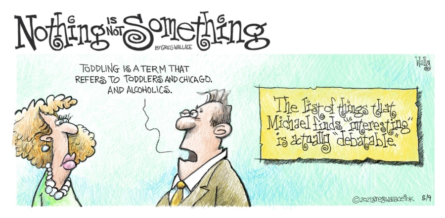 Nothing is Not Something by Greg Wallace on Sun, 09 May 2021