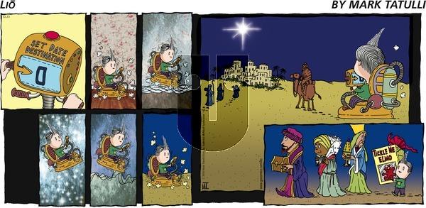 Lio on Sunday December 23, 2018 Comic Strip