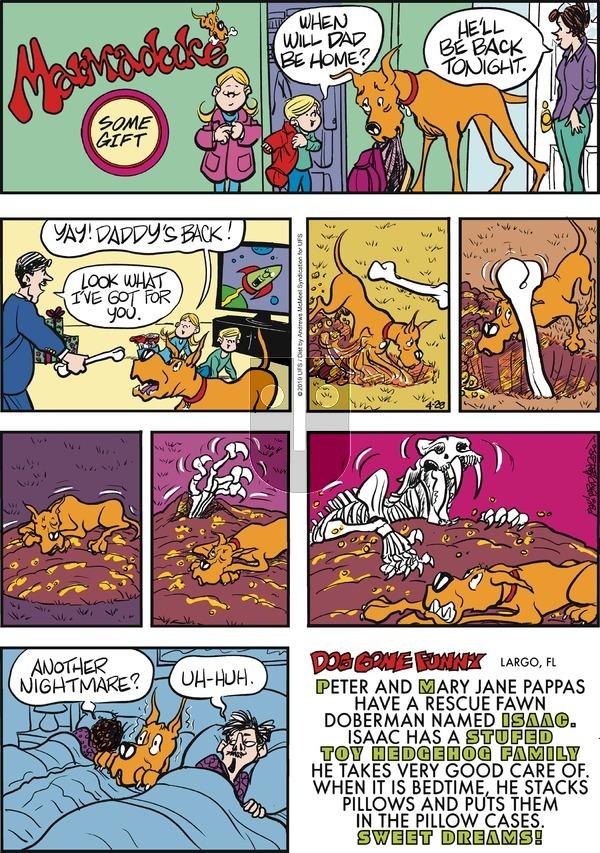 Marmaduke on Sunday April 28, 2019 Comic Strip