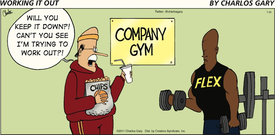 Working It Out Comic Strip for July 25, 2021
