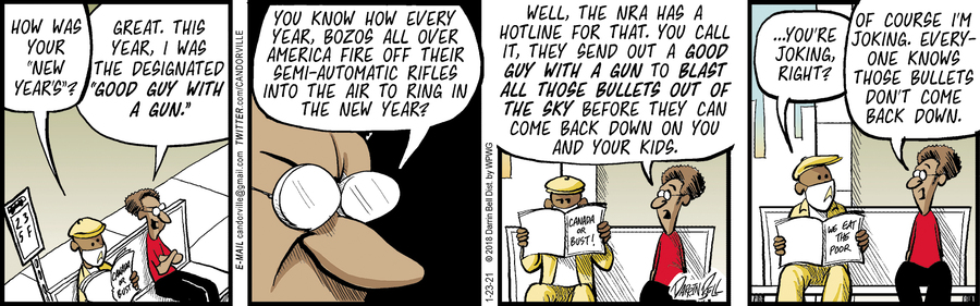 Candorville Comic Strip for January 23, 2021