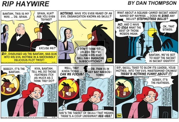 Rip Haywire on Sunday February 21, 2021 Comic Strip