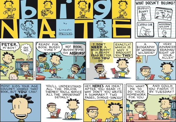 Big Nate on November 25, 2018 Comic Strip