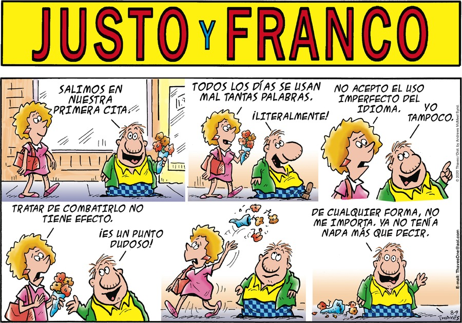 Justo y Franco by Thaves on Sun, 09 Aug 2020