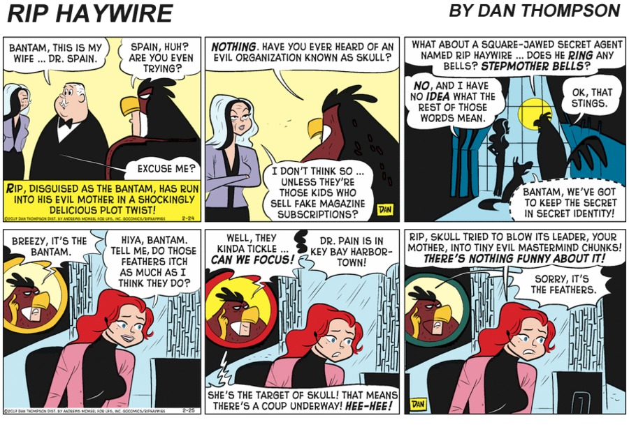 Rip Haywire Comic Strip for February 21, 2021