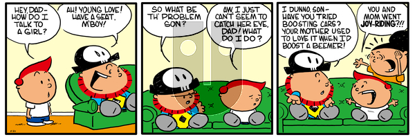Pirate Mike on December 6, 2018 Comic Strip
