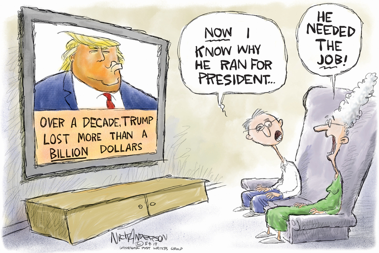 Nick Anderson by Nick Anderson for May 09, 2019