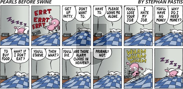 Pearls Before Swine on Sunday January 6, 2019 Comic Strip