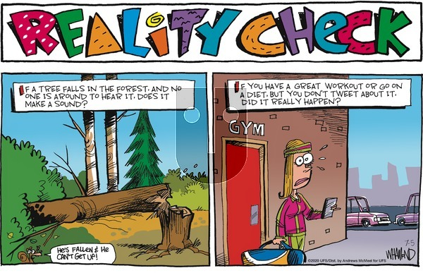 Reality Check on Sunday July 5, 2020 Comic Strip