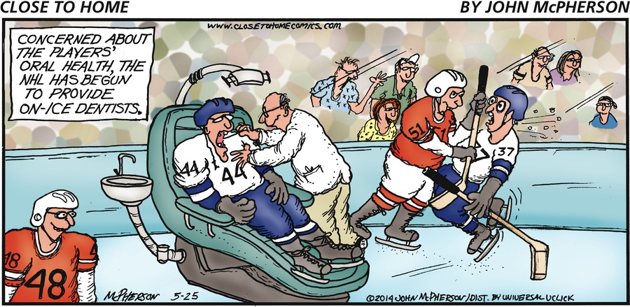 Close to Home Comic Strip for May 25, 2014
