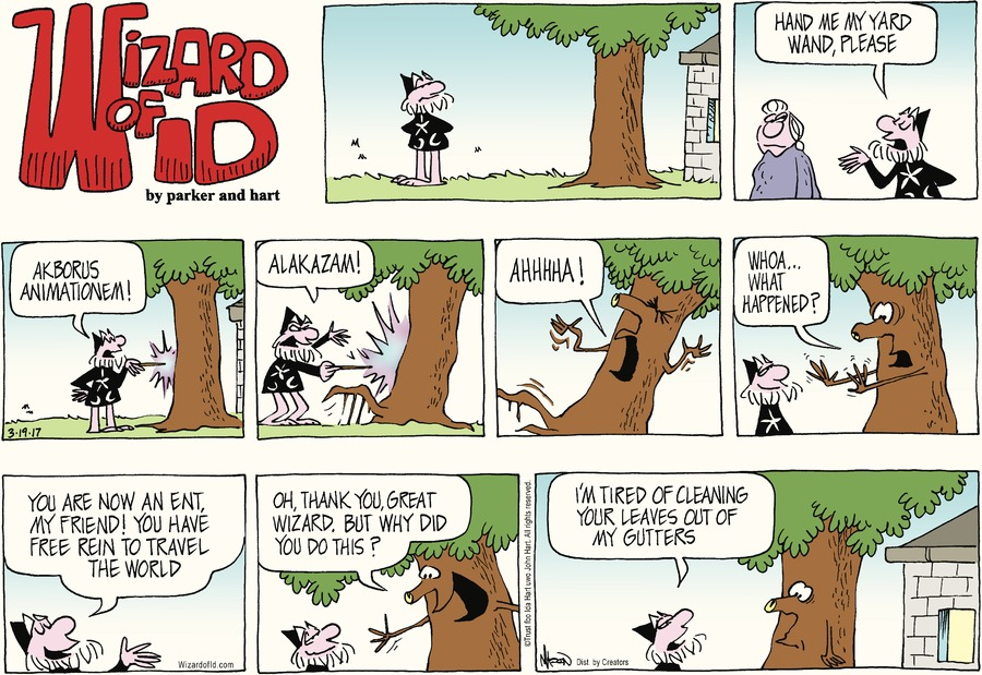 Wizard of Id Comic Strip for March 19, 2017