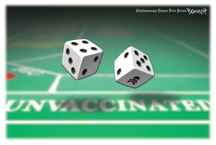 Clay Bennett Comic Strip for July 10, 2021