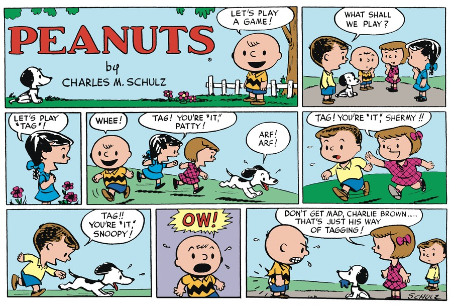 Peanuts Begins Comic Strip for January 05, 2020