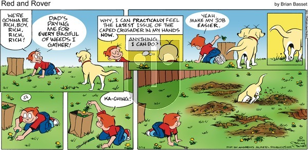 Red and Rover on Sunday May 16, 2021 Comic Strip