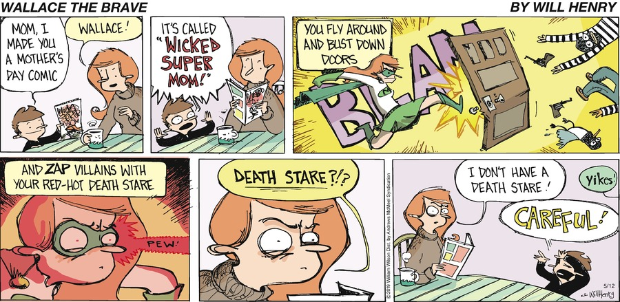 Wallace the Brave Comic Strip for May 12, 2019