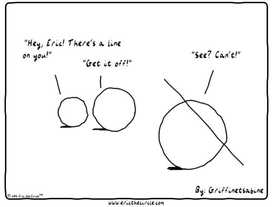 Eric the Circle for Nov 20, 2012 Comic Strip