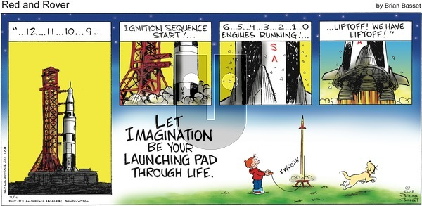 Red and Rover - Sunday February 4, 2018 Comic Strip