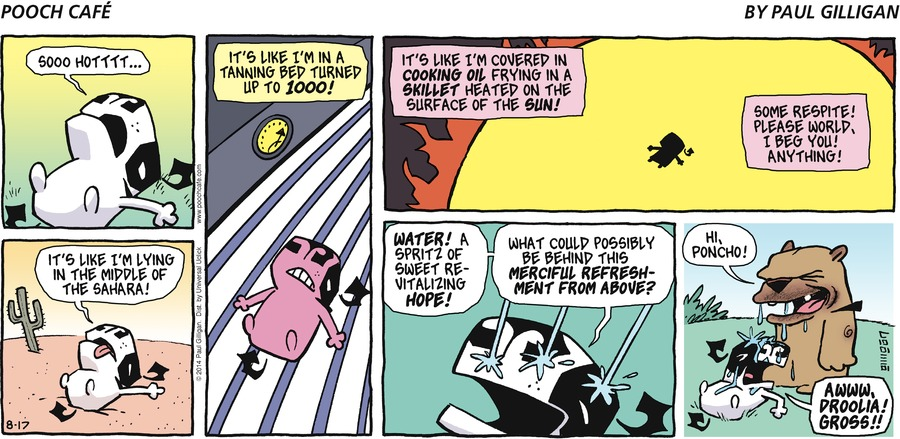 Pooch Cafe Comic Strip for August 17, 2014