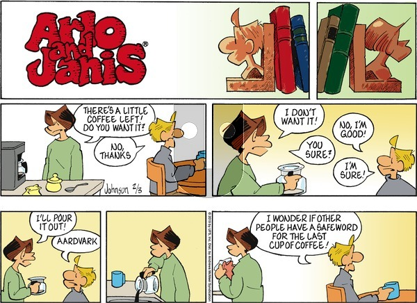 Arlo and Janis on Sunday February 3, 2019 Comic Strip