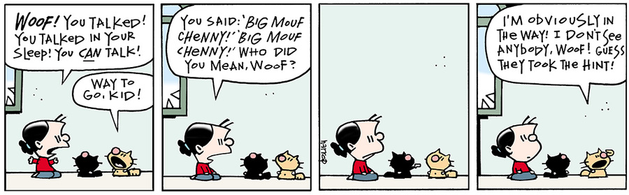 Ten Cats for Nov 1, 2013 Comic Strip