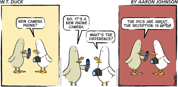 W.T. Duck Comic Strip for February 13, 2011