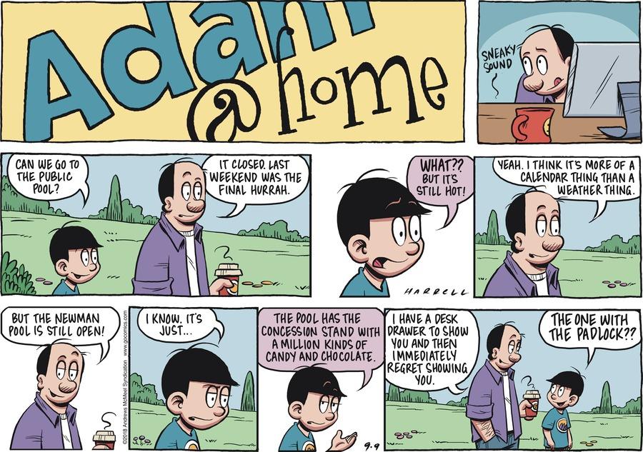 Adam@Home Comic Strip for September 09, 2018