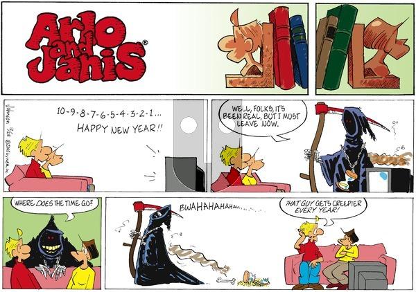 Arlo and Janis on Sunday December 28, 2003 Comic Strip