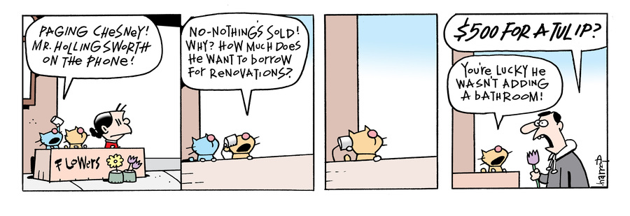 Ten Cats Comic Strip for September 16, 2021