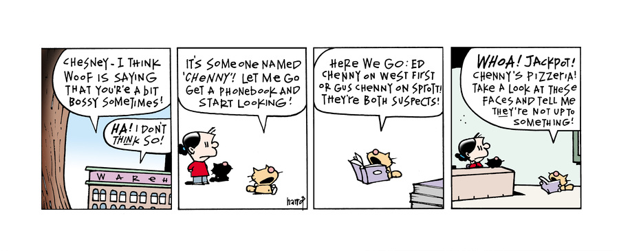 Ten Cats Comic Strip for November 02, 2013