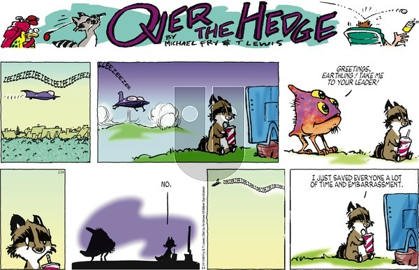 Over the Hedge on Sunday February 24, 2019 Comic Strip
