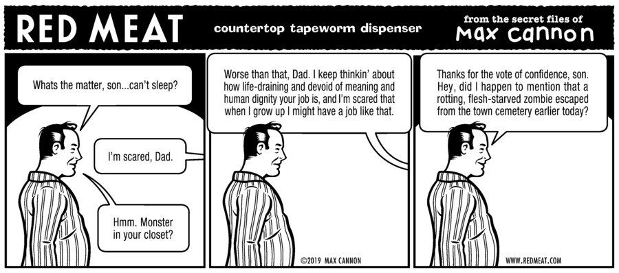 Red Meat Comic Strip for September 08, 2019