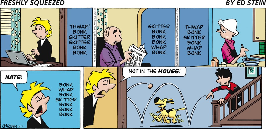 Freshly Squeezed for Feb 17, 2013 Comic Strip