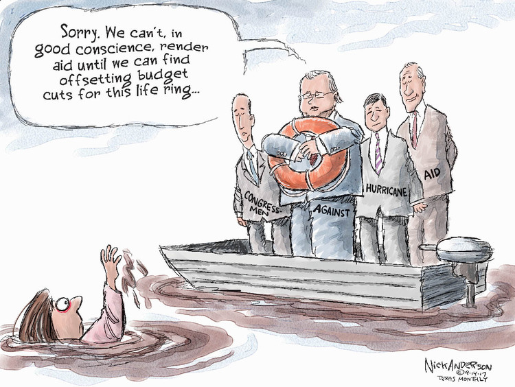 Nick Anderson for Sep 14, 2017 Comic Strip