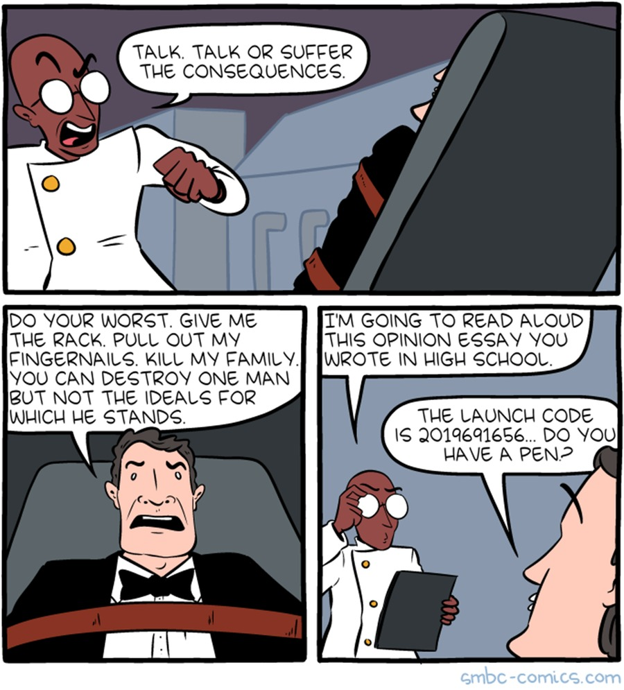 Saturday Morning Breakfast Cereal Comic Strip for March 17, 2019