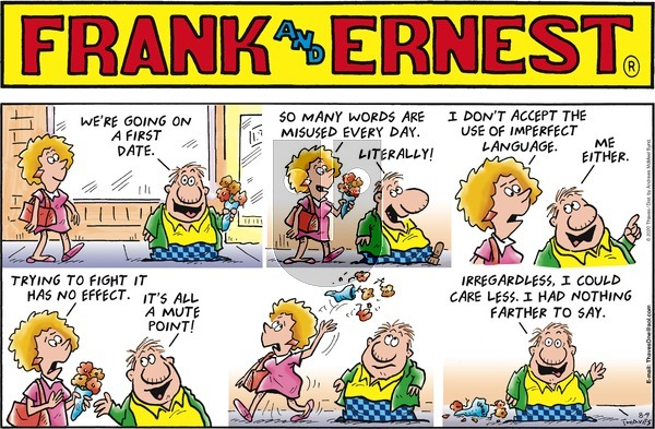 Frank and Ernest on Sunday August 9, 2020 Comic Strip