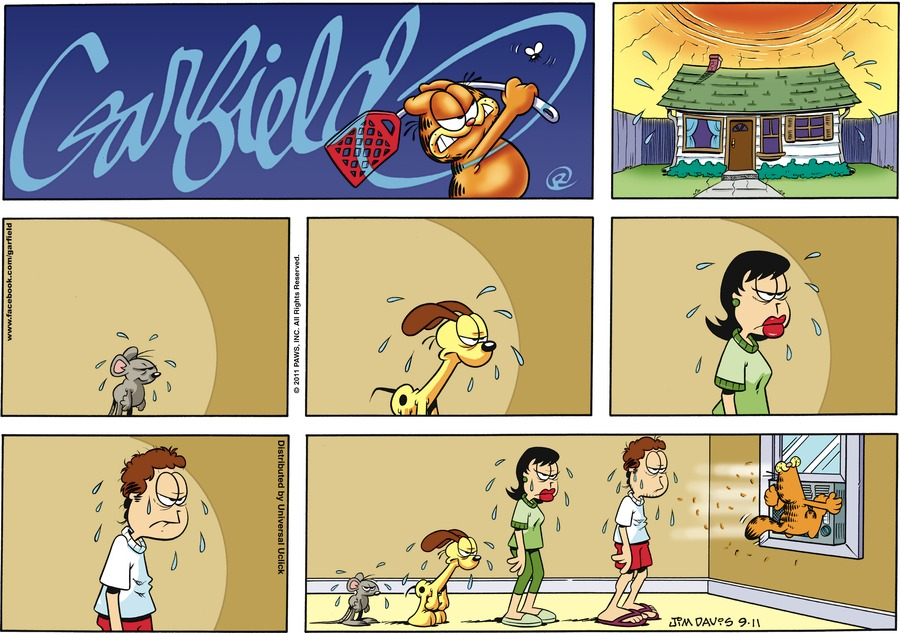 Garfield Comic Strip for September 11, 2011